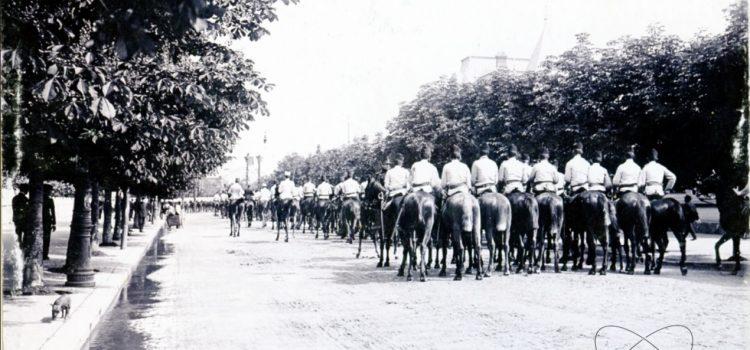 Paradă militară cu ocazia zilei de 10 Mai, Ziua Regelui – foto 1904