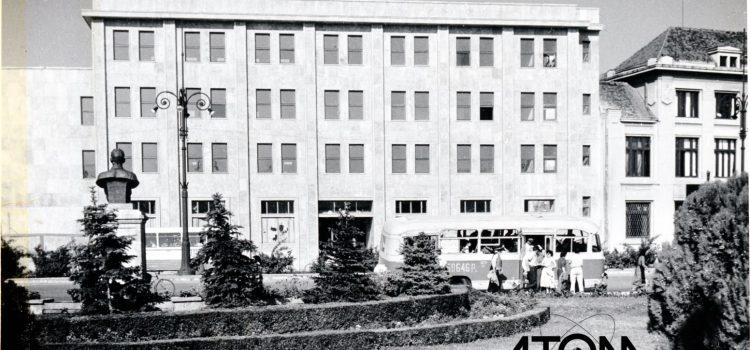"""Noul sediul al """"Poștei Centrale"""" – foto 1963"""