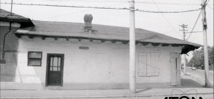 Strada Marin Brutaru la intersecție cu strada Bobâlna – foto 1979