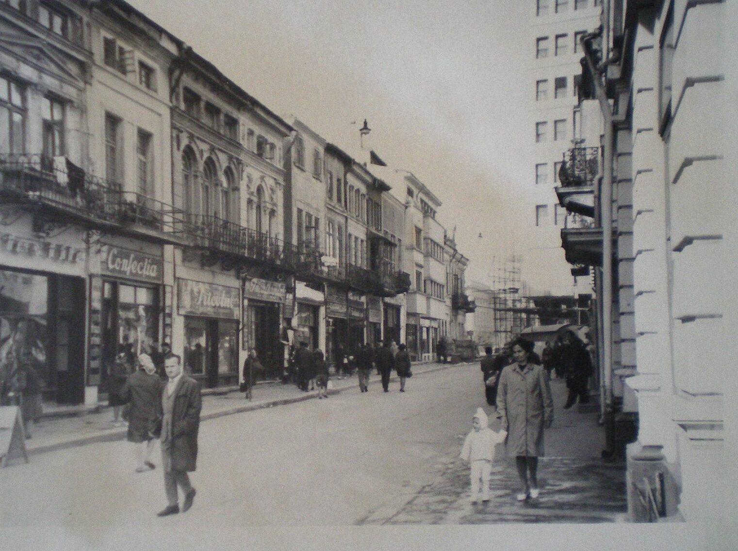 Strada Lipscani – foto 1970