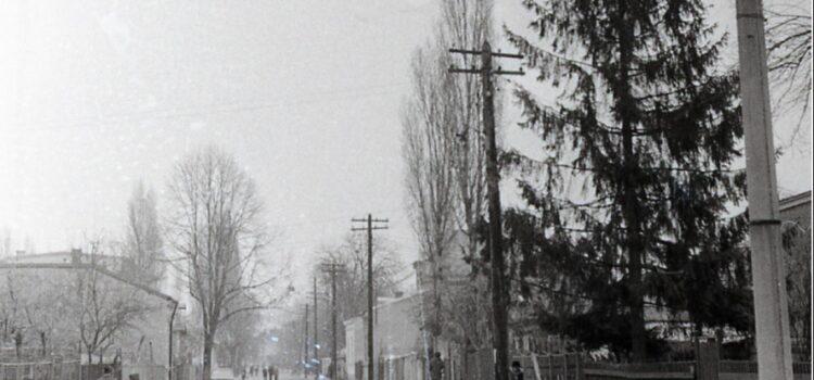 Pe strada Traian Vuia – foto 1979