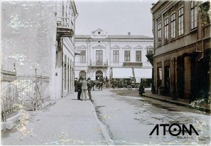 Pe strada Toma Caragiu – foto 1904