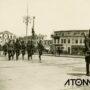 Trupele române defilând prin centrul orașului Ploiești – foto 1943