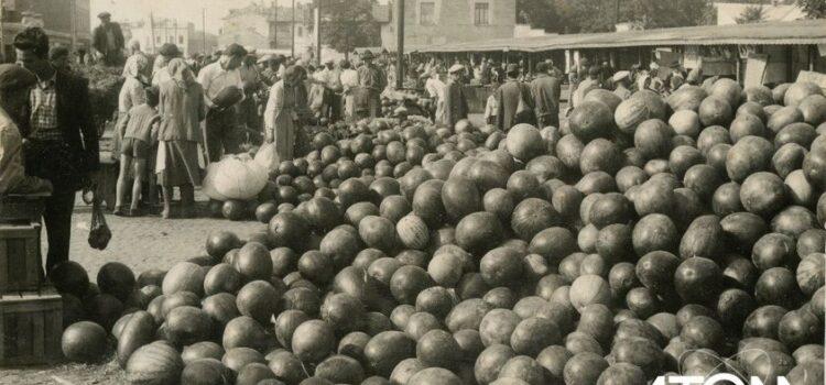Vechea Piață (Piața Mare) – foto 1934