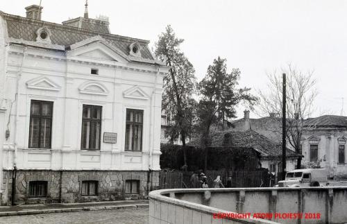 Fostul sediu Agrosem imortalizat la inceputul anilor 1960.