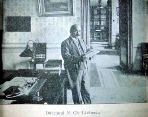 Directorul N. G. Lazarescu